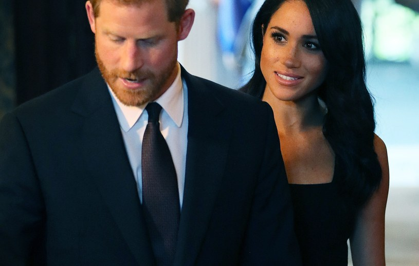 Książę Harry i Meghan Markle /Brian Lawless - PA Images /Getty Images