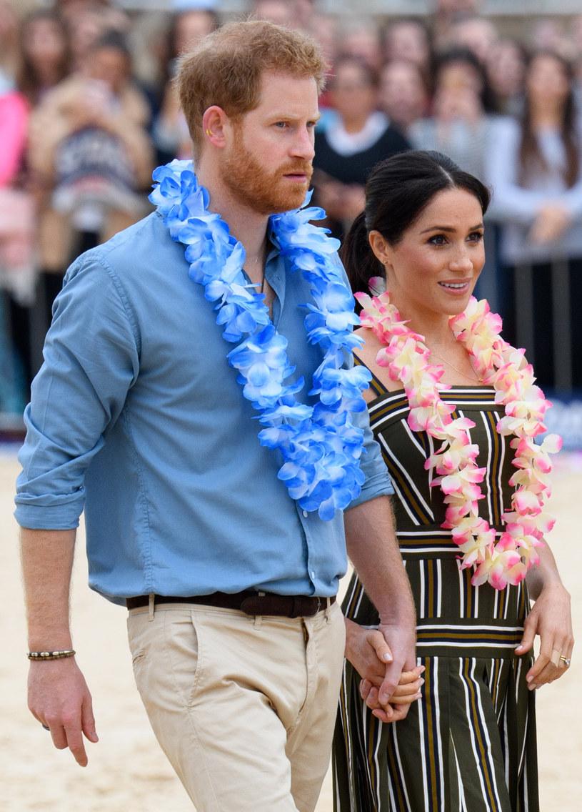 Książę Harry i Meghan Markle /Pool/Samir Hussein / Contributor /Getty Images