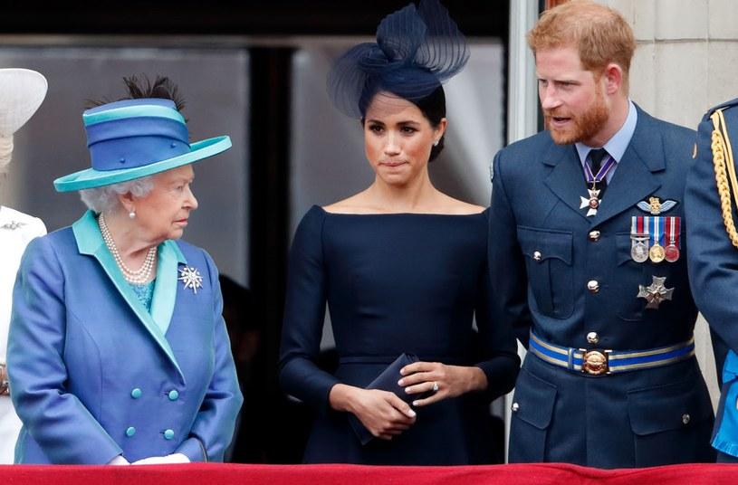 Książę Harry i Meghan są obecnie w konflikcie z rodziną królewską / Max Mumby/Indigo / Contributor /Getty Images
