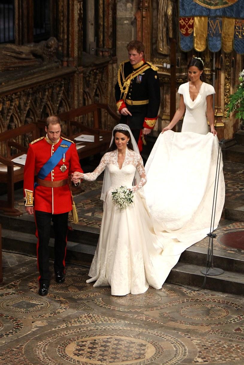 Książę Harry i Pippa Middleton na ślubie Kate i Williama /Getty Images