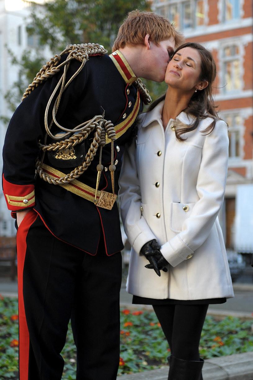 Książę Harry i Pippa Middleton /Ben Pruchnie /Getty Images