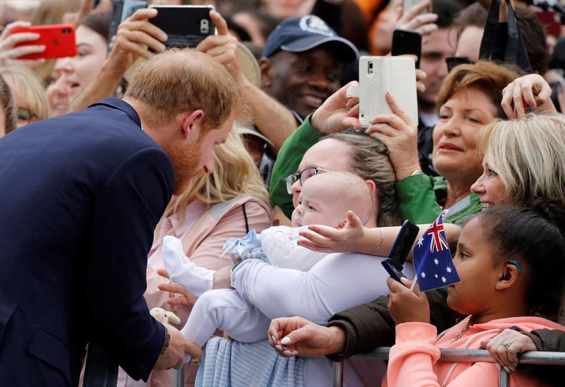 Książę Harry podczas wizyty w Melbourne. Australia /Getty Images