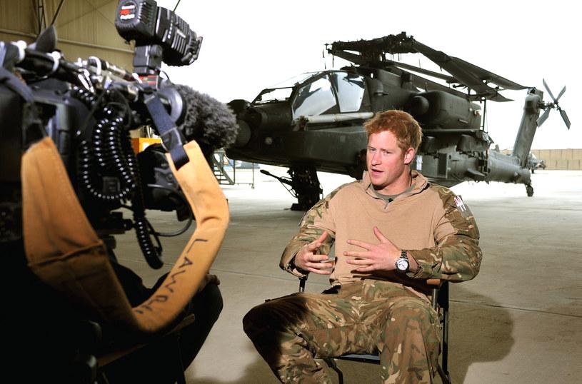 Książę Harry przebywał w Afganistanie w trakcie wojny /WPA Pool /Getty Images