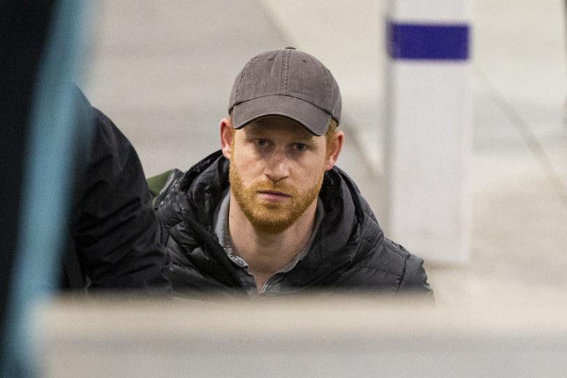 Książę Harry przyleciał do Wielkiej Brytanii /Prince Harry World Righs /East News