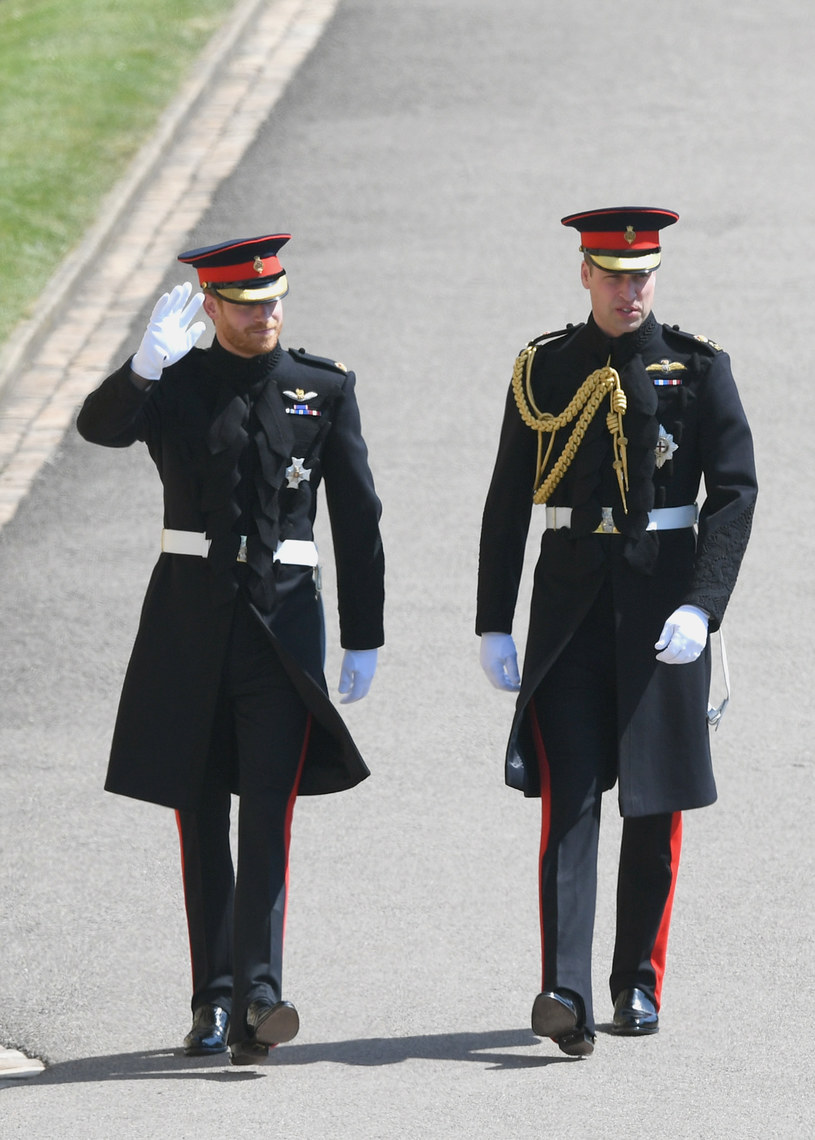 Książę Harry z bratem, Williamem /Shaun Botterill /Getty Images