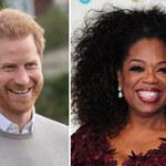 Książę Harry znowu porozmawiał z Oprah Winfrey! Kolejny cios dla królowej