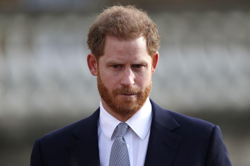 Książę Harry /AFP