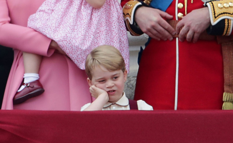 Książę Jerzy jest jednym z dziedziców królewskiej fortuny /Yui Mok/Press Association /East News