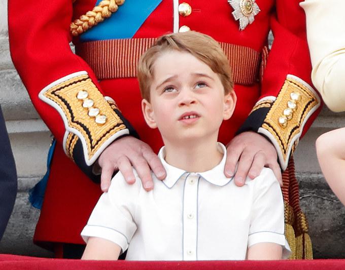 Książę Jerzy nie zdaje sobie jeszcze sprawy, co go czeka w przyszłości