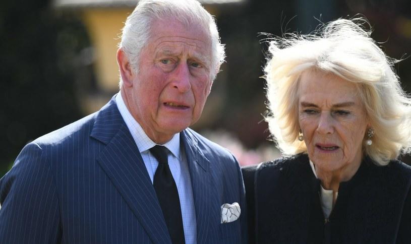 Książę Karol bardzo przeżył śmierć ojca. W trudnych momentach wspierała go żona /Jeremy Selwyn/Evening Standard/Press Association/East News /East News