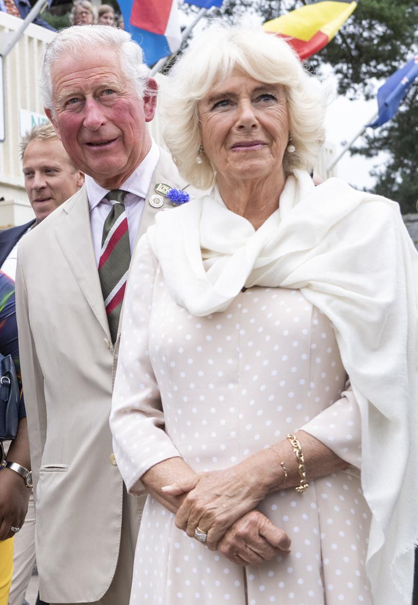 Książę Karol i Camilla Parker-Bowles /Mark Cuthbert /Getty Images