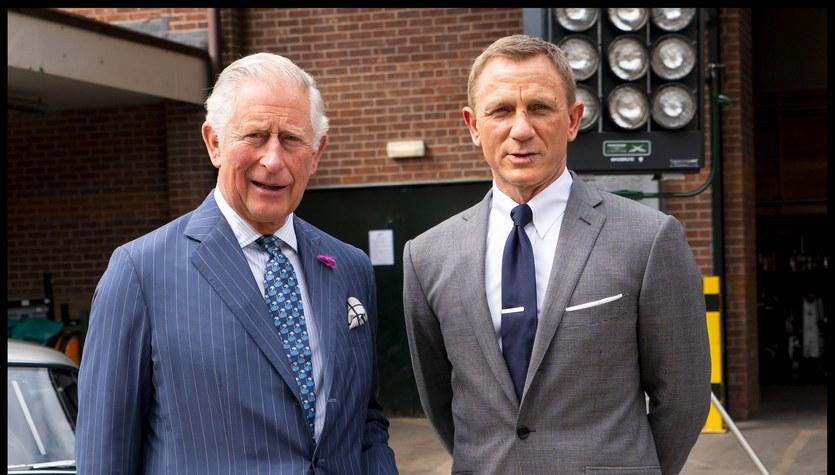 Książę Karol i James Bond