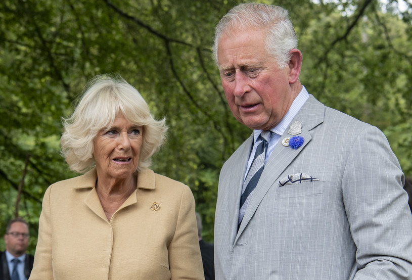 Książę Karol i księżna Camilla /Mark Cuthbert /Getty Images