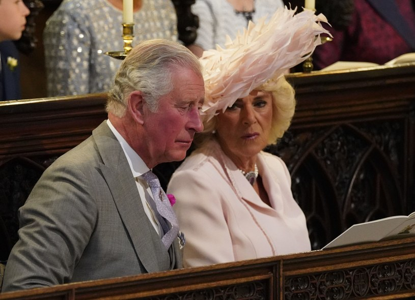 Książę Karol i księżna Kamila /Jonathan Brady/PA Wire/PA Images /East News