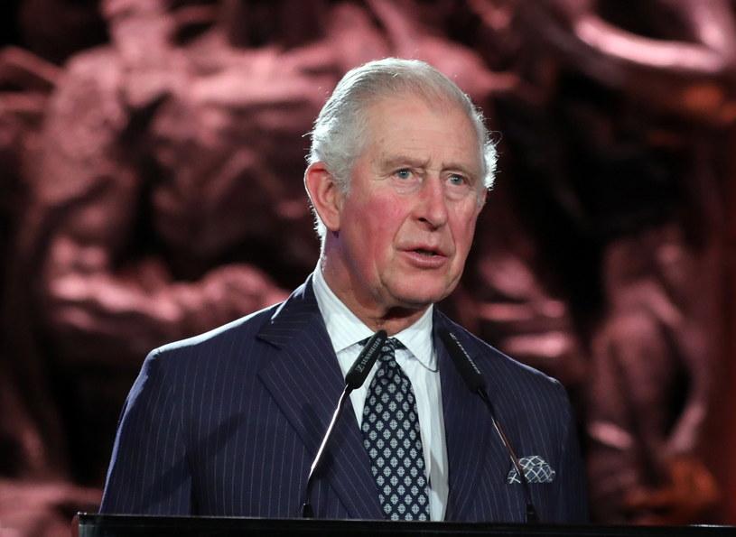 Książę Karol na uroczystościach w Yad Vashem /ABIR SULTAN /PAP/EPA