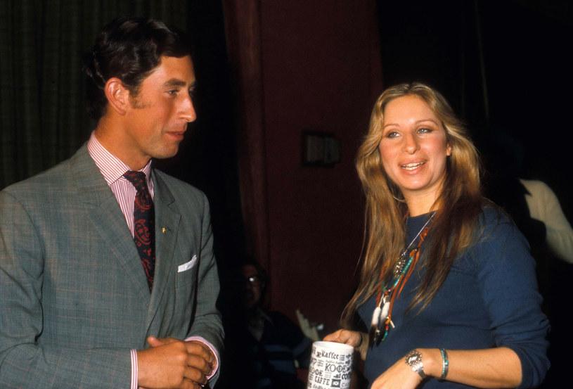 Książę Karol nigdy nie ukrywał, że jest wielkim fanem Barbry Streisand /GP/MPI/Capital Pictures /East News