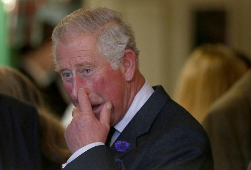 Książę Karol podczas wizyty w Szkocji /East News
