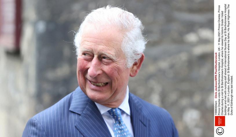Książę Karol podczas wizyty w szpitalu, gdzie przebywał przed śmiercią jego ojciec, książę Filip /Chris Jackson /East News