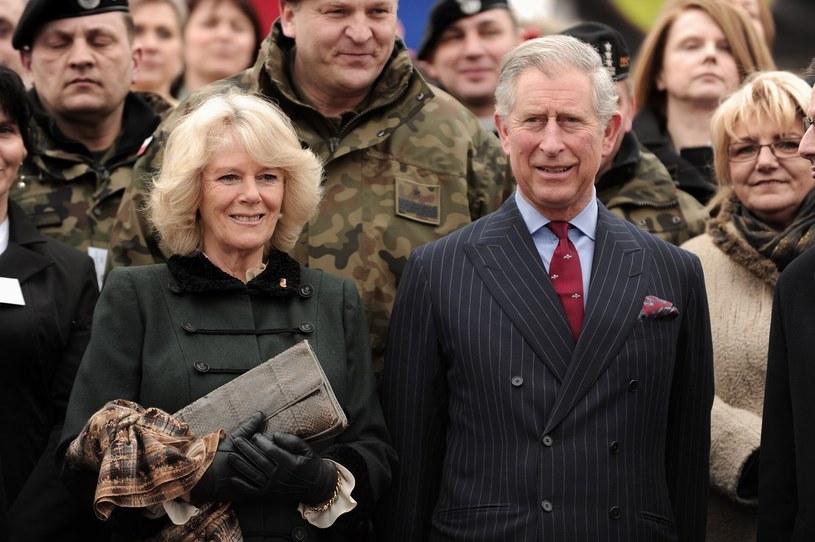 Książę Karol z żoną podczas pobytu w Polsce /East News