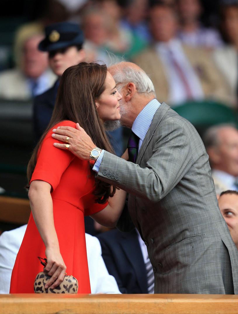 Książę Michał z Kentu i księżna Kate / PA Wire    /East News