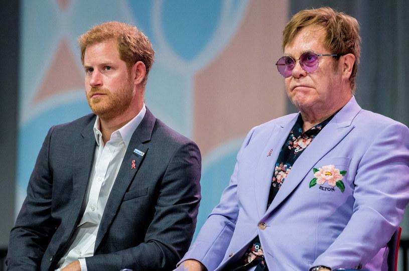 Książę przyjaźni się również z Eltonem Johnem /East News