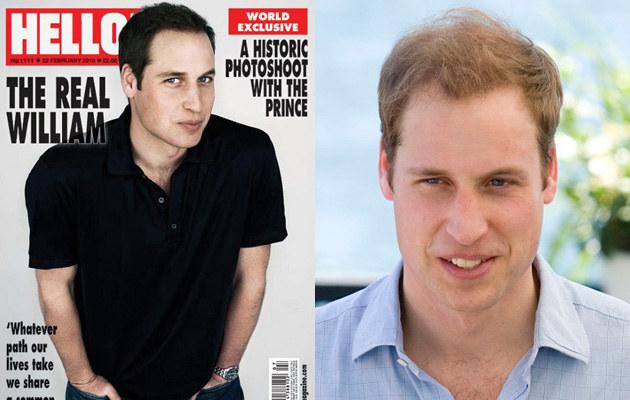 Książe William farbuje włosy?  /Splashnews