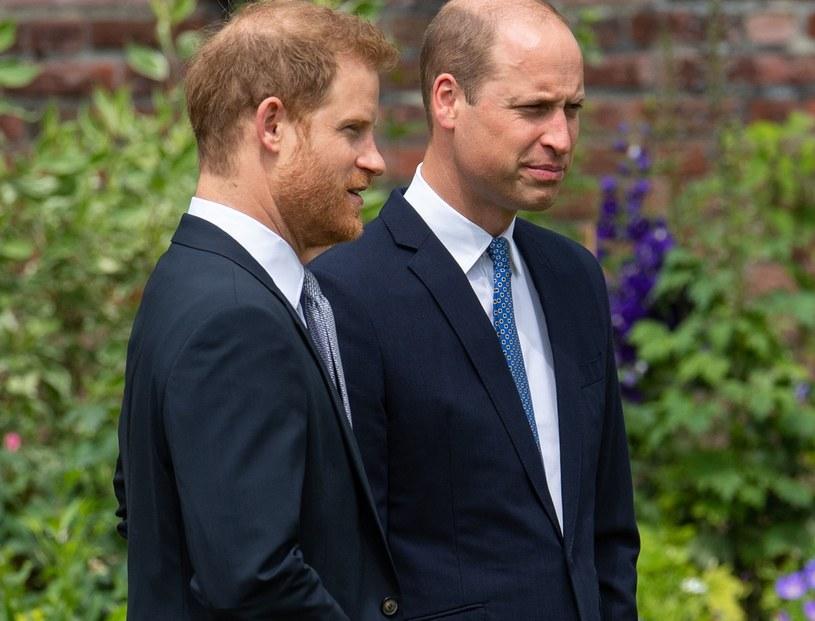 Książę William i Harry spotkali się pierwszy raz od kwietnia 2021 roku, gdy byli na pogrzebie księcia Filipa /WPA Pool /Getty Images