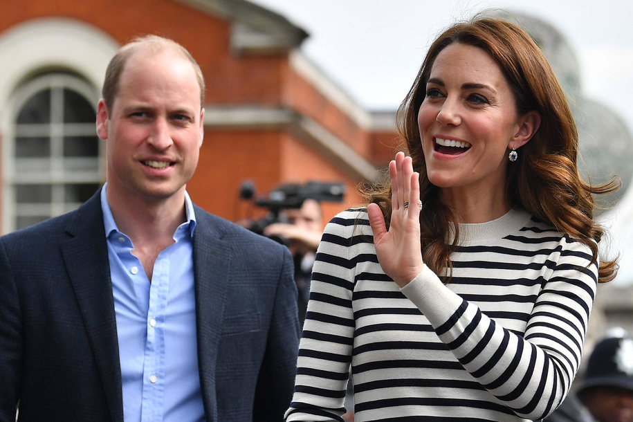 Książę William i jego żona księżna Kate /BEN STANSALL /PAP/EPA