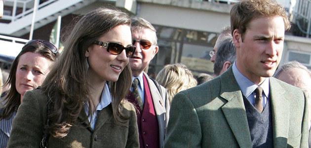 Książę William i Kate  /AFP