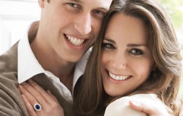 Książę William i Kate, fot. Handout  /Getty Images/Flash Press Media