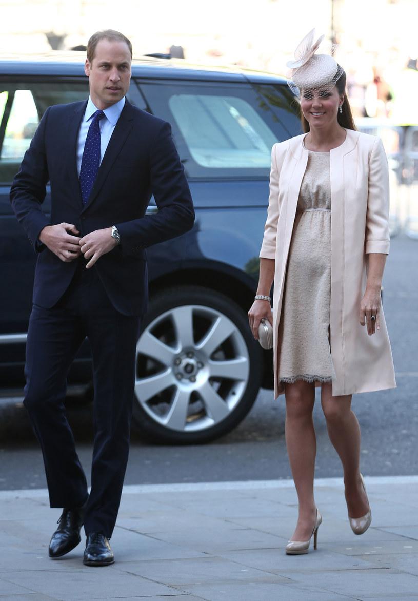 Książę William i Kate /- /Getty Images