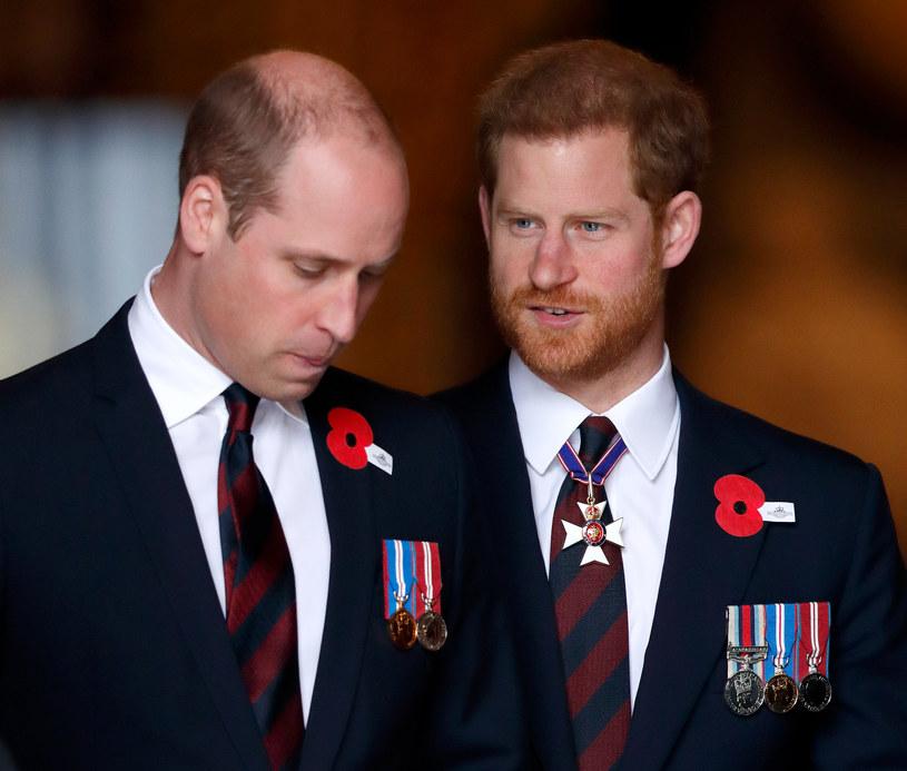 Książę William i książę Harry /Max Mumbly /Getty Images