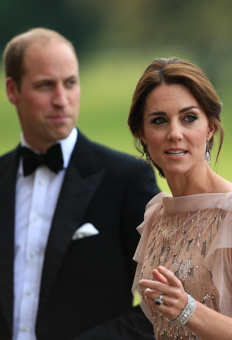 Książę William i księżna Kate Middleton /Getty Images