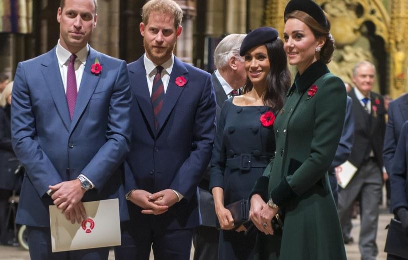 Książę William i księżna Kate planuja polecieć do Meghan Markle i Harry'ego /WPA Pool /Getty Images
