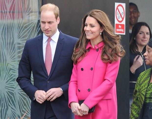 Książę William i księżna Kate po raz drugi zostali rodzicami / Splash News /East News