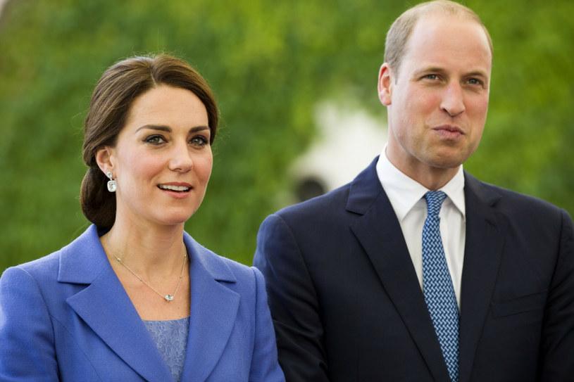 Książę William i księżna Kate podczas podróży do Niemiec w 2017 roku /FaceToFace /Reporter
