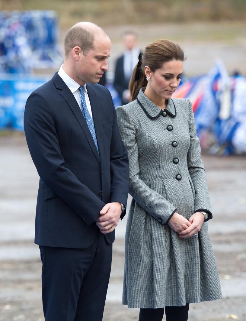 Książę William i księżna Kate w Leicester /Splash News /East News