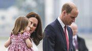 Książę William i księżna Kate wraz z dziećmi przylecieli do Polski! Uroczy widok!