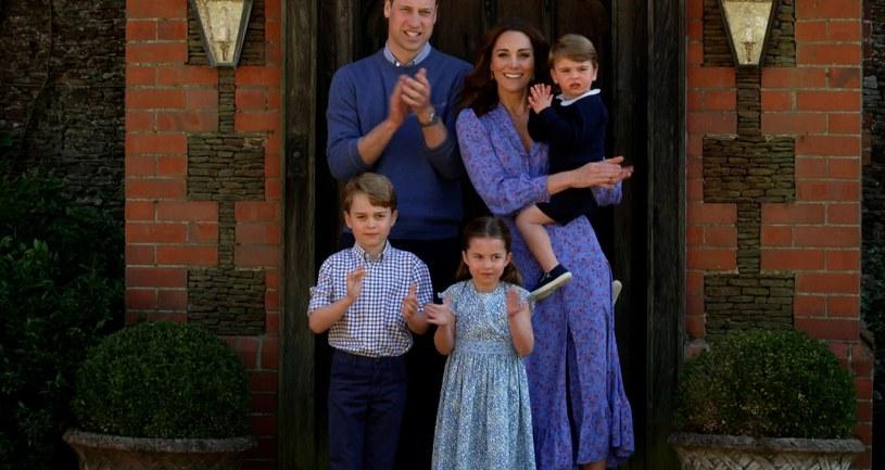Książę William i księżna Kate z dziećmi /Comic Relief/BBC Children in Need/Comic Relief /Getty Images