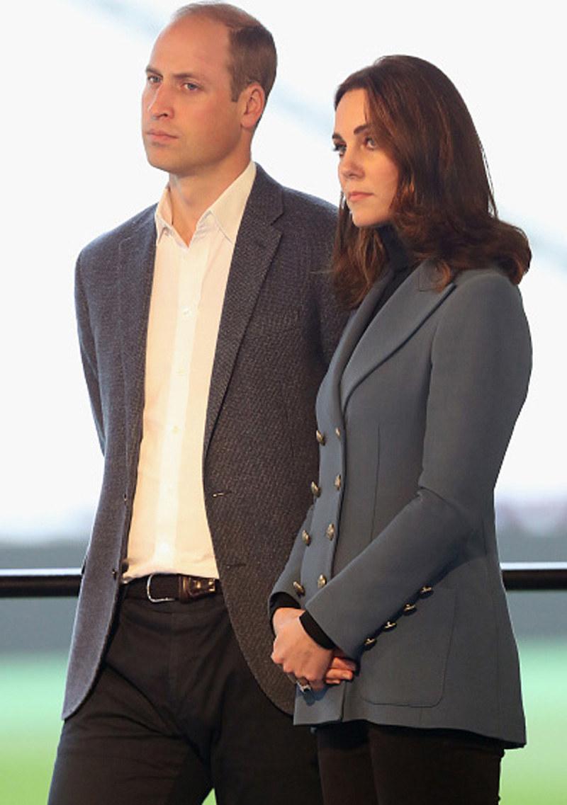 Książę William i księżna Kate /Chris Jackson /Getty Images