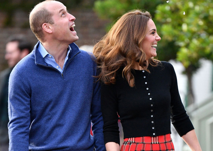 Książę William i księżna Kate /Tim Rooke/REX/Shutterstock /East News