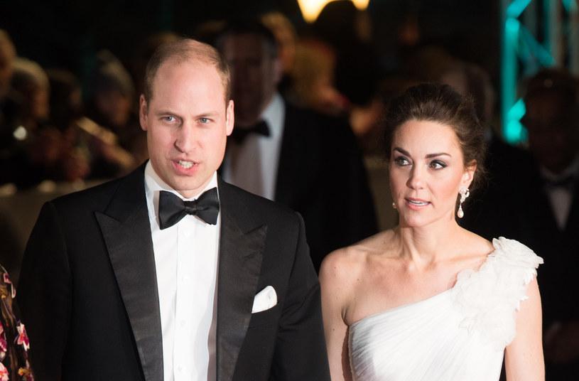 Książę William i księżna Kate /Samir Hussein
