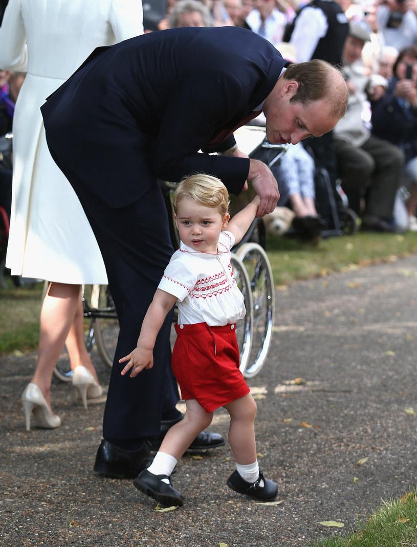 """Książę William nazwał synka """"małą małpką"""" /Chris Jackson /Getty Images"""
