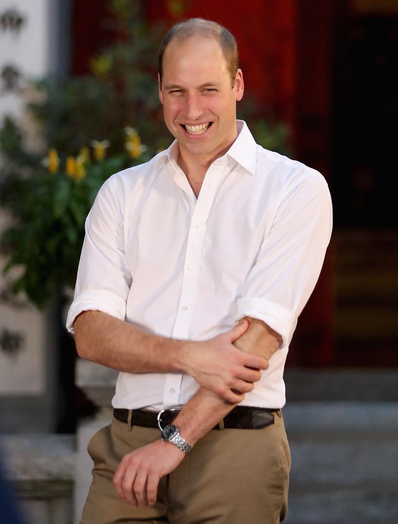 Książę William nie ma obrączki /- /Getty Images
