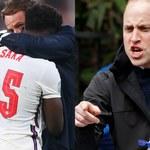 """Książę William ostro po finale Euro 2020: """"Jestem wstrząśnięty rasistowskim atakiem na angielskich zawodników""""!"""
