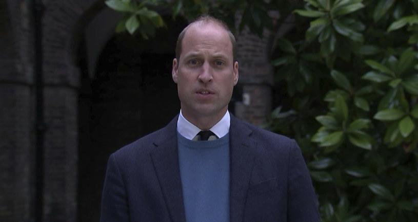 Książę William przerwał milczenie w sprawie słynnego wywiadu swojej matki, księżnej Diany, dla BBC w 1995 roku /ITN/Associated Press/East News /East News
