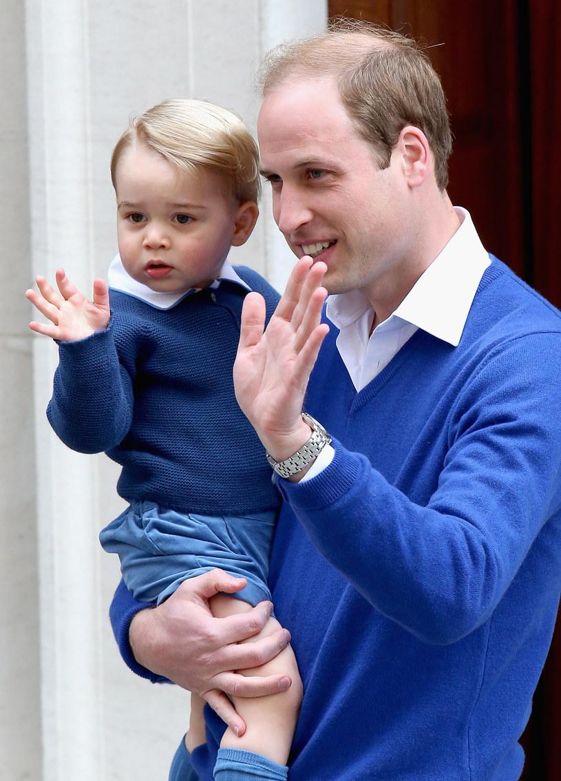 Książę William z synem /Chris Jackson /Getty Images