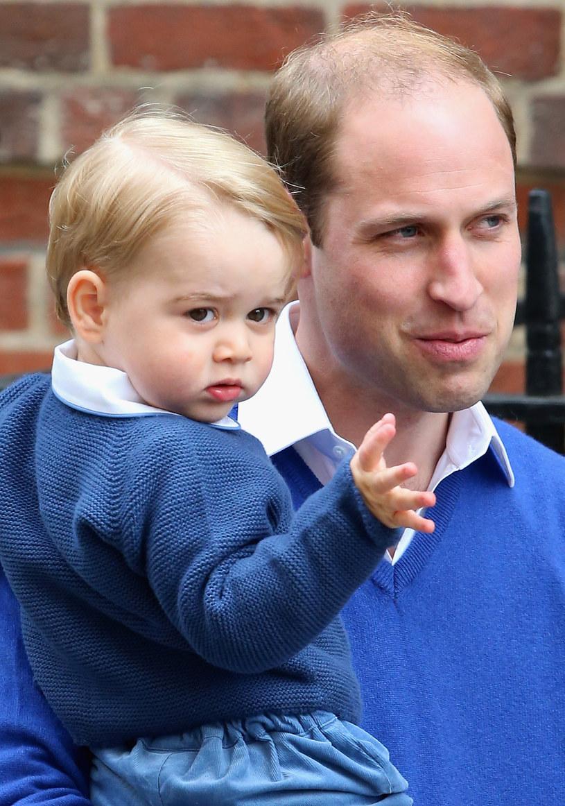 Książę William z synkiem /Chris Jackson /Getty Images