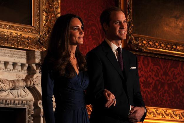 Książę William z żoną /PAP