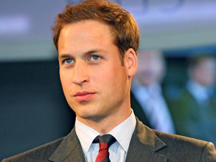 Książę William /AFP